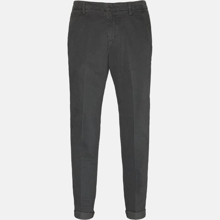Trousers - Slim - Grey